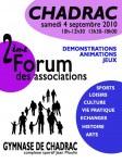 Forum des associations Chadrac 2010
