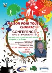 Confrence eau et biodiversite mpt chadrac