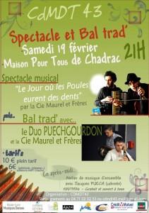 Affiche maurel et freres MPT Chadrac