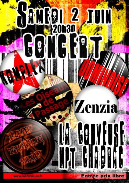 concert la couveuse 2 juin 2012