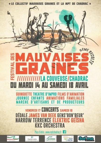 Festival des Mauvaises Graines #5