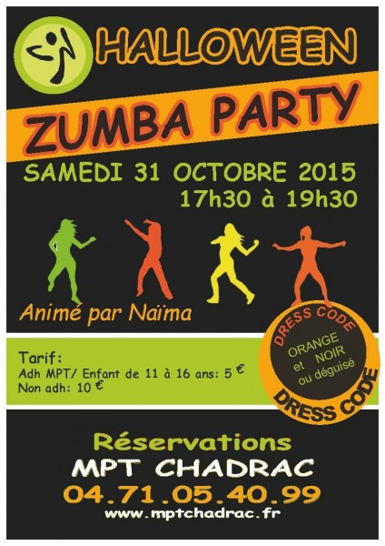 Halloween Zumba Party