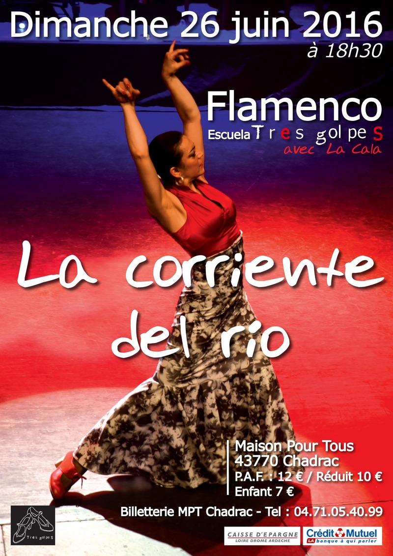 SPECTACLE DE DANSE FLAMENCA «EL CORIENTE DEL RIO»